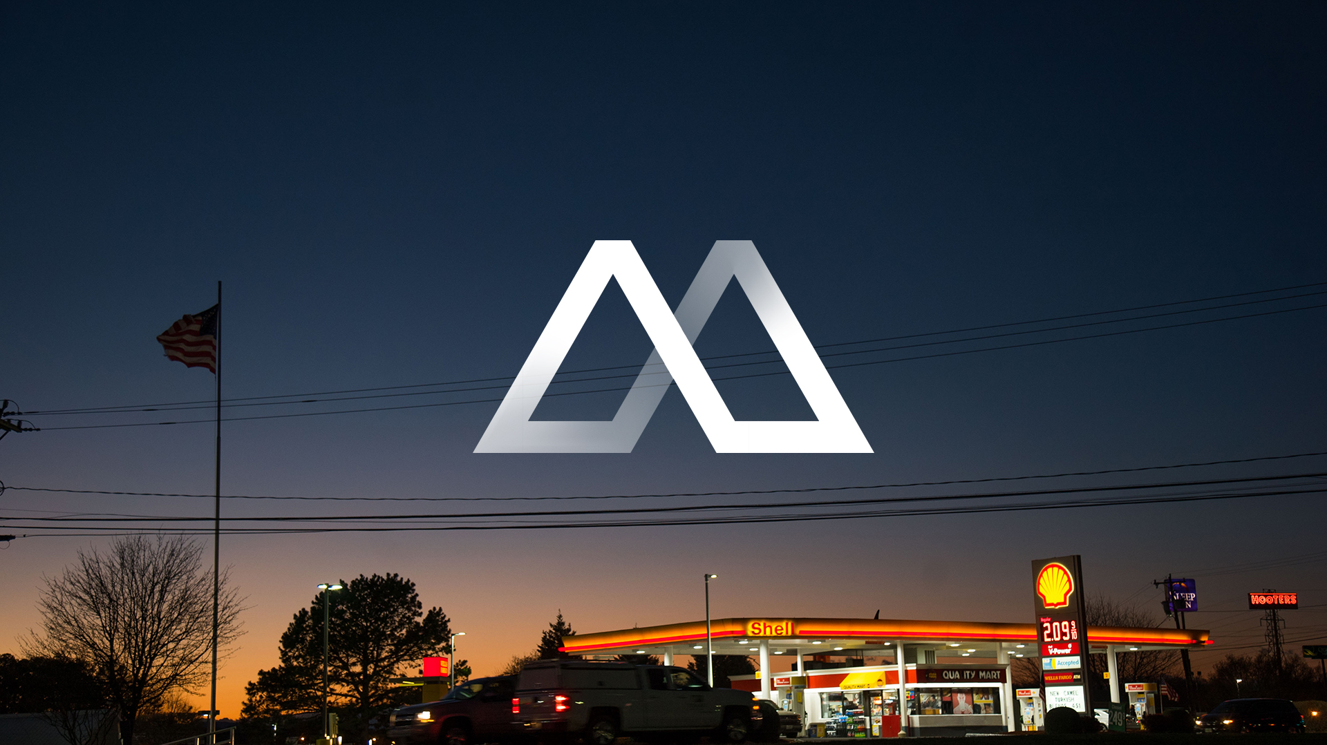 Manto films logo superimposed over an American sunset
